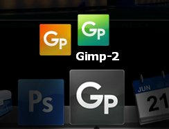 The GIMP Dock Icons by FordGT