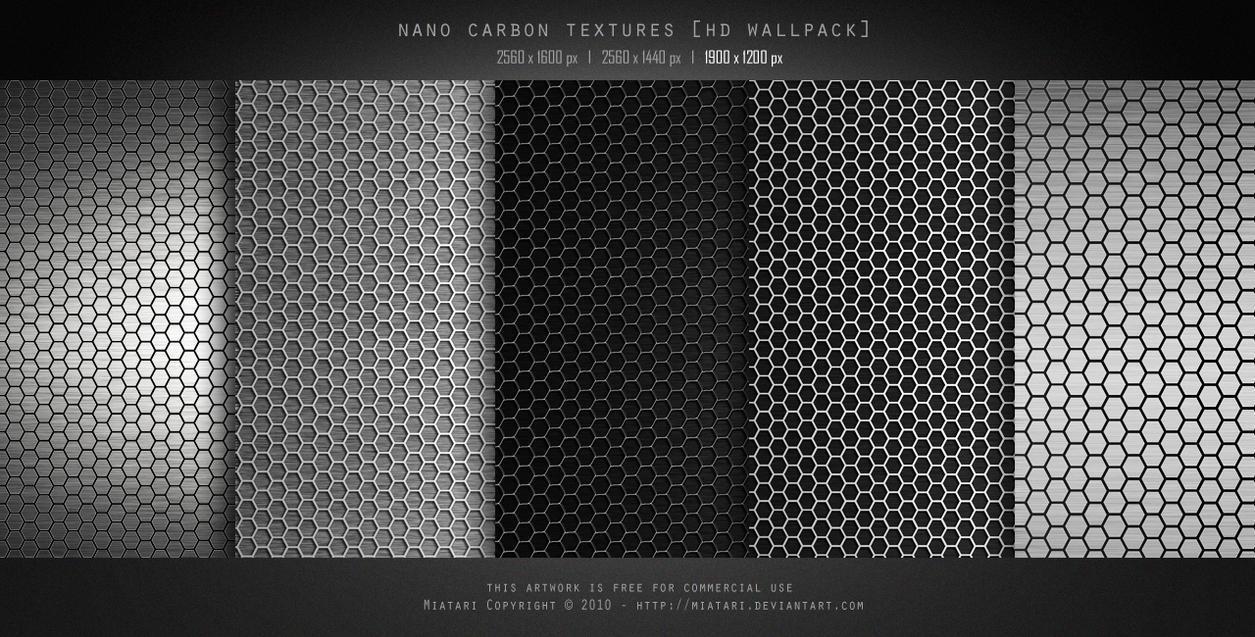 NANO CARBON TEXTURE by MIATARI