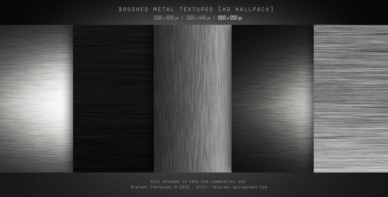 BRUSHED METAL TEXTURE by MIATARI