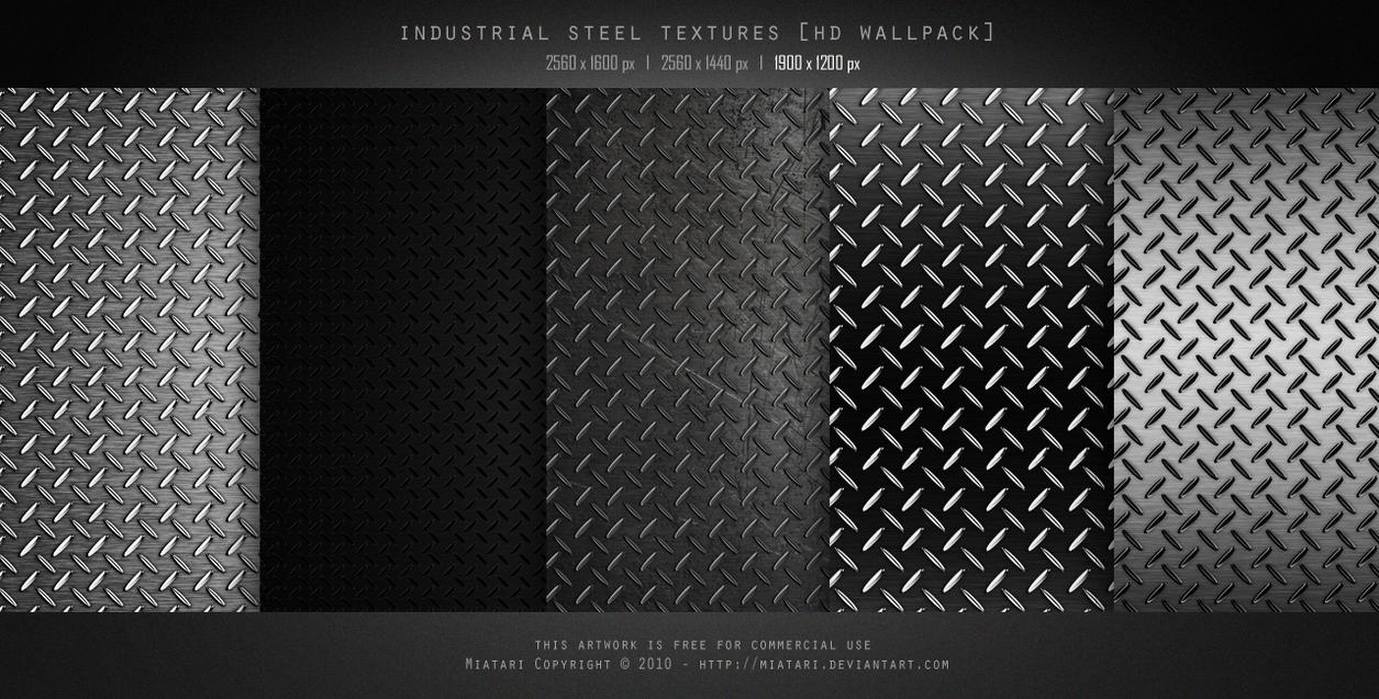 INDUSTRIAL STEEL TEXTURE by MIATARI