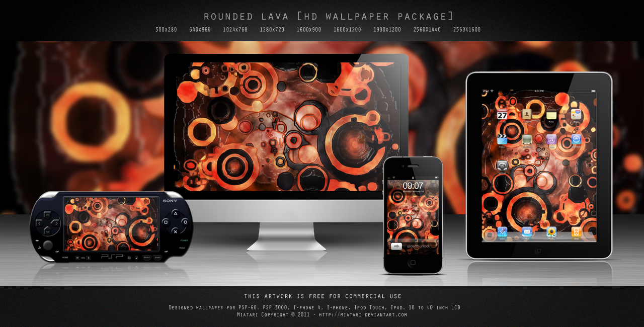 ROUNDED LAVA