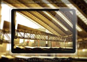 OSAKA TRAIN STATION II by MIATARI