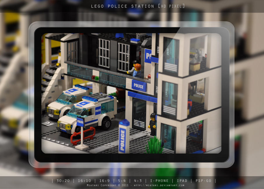 LEGO POLICE STATION by MIATARI