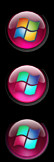 orb pink for windows 7 by invhizible