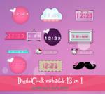 DigitalClock invhizible