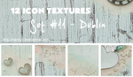 12 icon textures - dublin (set#11) by larmay