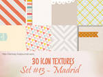 30 icon textures - madrid (set#13) by larmay