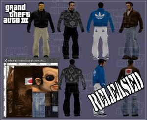 GTA3 Skin pack released