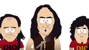 Ronnie James Dio in South Park