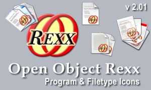 Open Object Rexx Icons v 2.0 by graywz