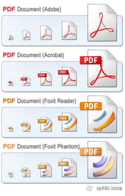 xpAlto PDF Filetype Icons by graywz