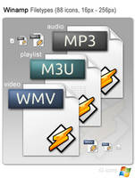 iG Winamp Icons by graywz