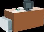 Computer desk 01