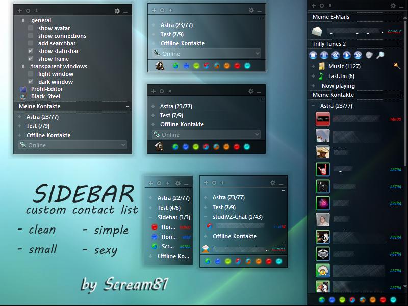 Sidebar by Scream81