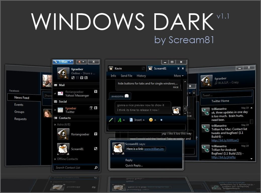 Skype skins windows 7 Download + Crack (Latest Version 2019)