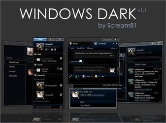 Windows Dark 5.5 by Scream81