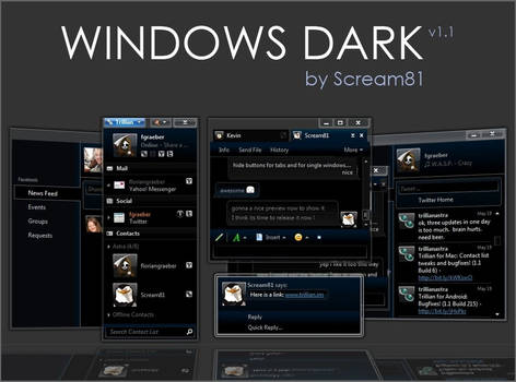 Windows Dark 5.5