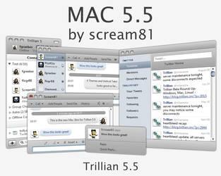 MAC 5.5 Skin for Trillian by Scream81