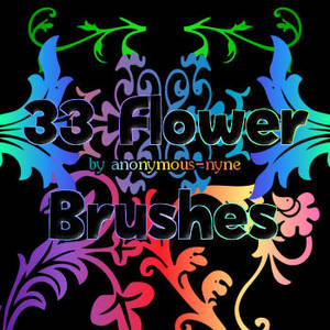 33 Flower Brushes