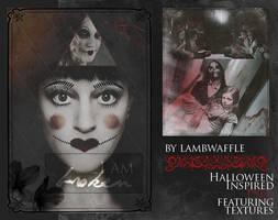 Halloween PSDs by Lamb by lambwaffle
