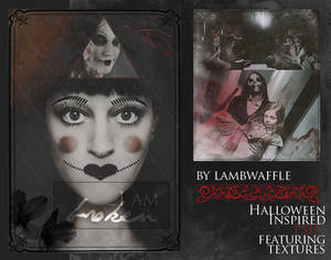 Halloween PSDs by Lamb