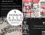 8 Halloween textures 1288 x 1000