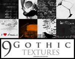 9 Gothic  Textures by Lamb