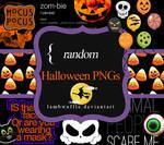 Random Halloween PNGS