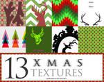 13 Modern Christmas Textures