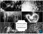 40 Fireworks and Sparklers Brushes by lambwaffle