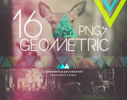 Geometric PNGs by lambwaffle
