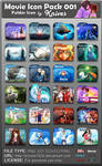 Movie Folder Icon Pack 001 by Knives