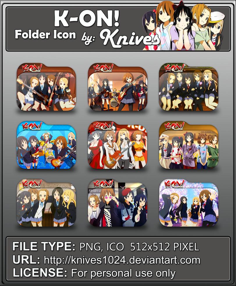 Anime Icon Folder By Tobinami On Deviantart: K-On! Anime Folder Icon By Knives By Knives1024 On DeviantArt