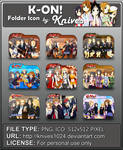K-On! Anime Folder Icon by Knives