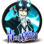 Ao no Exorcist Circle Icon by Knives