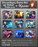 Chuunibyou Demo Koi ga Shitai! Version 2 Anime by knives1024