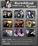 Kuroshitsuji Anime Folder Icon by Knives