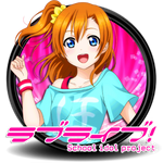 Love Live School Idol Project Circle Icon by Knive