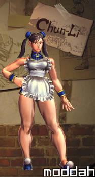 SFTK PC Chun Li Alt. Costume backport from xbox360