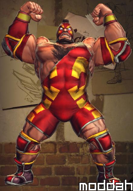 SFTK PC Zangief Alt. Costume backport from xbox360 by