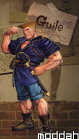 SFTK PC Guile Alt. Costume backport from xbox360