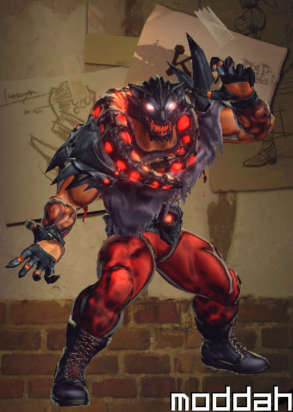 Street Fighter X Tekken King Costumes
