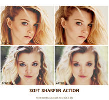 Soft Sharpen Actions by thecolorfulgirgit