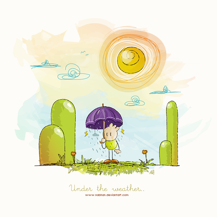 Under the weather.. by NaBHaN