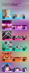 METROBE: Windows 8 Tiles for Adobe CC 2014 product by khanhas