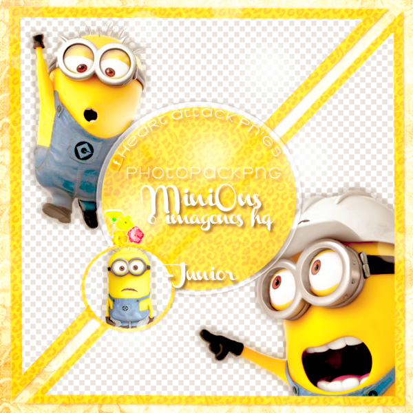 +PNG-MiniOns by Heart-Attack-Png