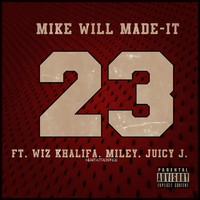 Single|23|Mike ft Miley, Wiz and Juicy. by Heart-Attack-Png