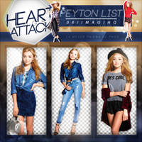 +Peyton List|Pack Png by Heart-Attack-Png