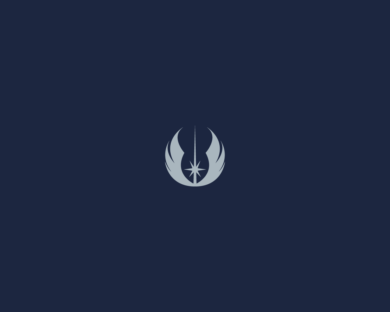 minimalist star wars wallpaper: jedi emblemdiros on deviantart