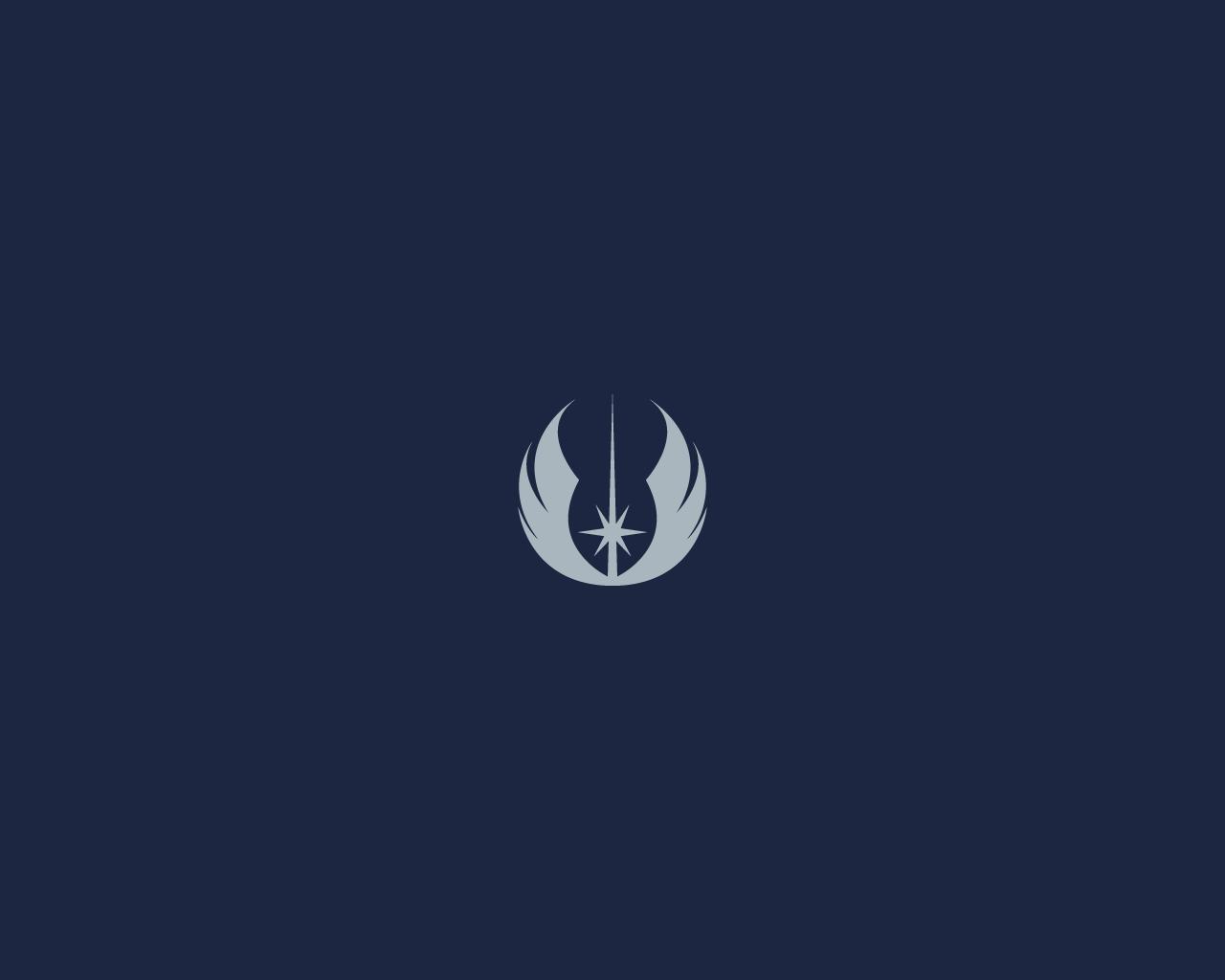Minimalist Star Wars Wallpaper: Jedi Emblem By Diros On
